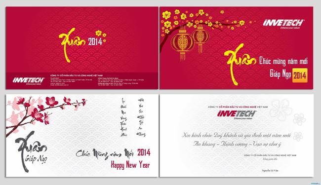 Quy trình in thiệp chúc mừng năm mới